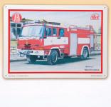 Kovap - Plechová tabule Tatra hasič
