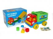Dětské didaktické auto na kolečkách