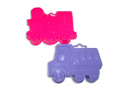 Plastové bábovičky na písek (auto + mašinka)