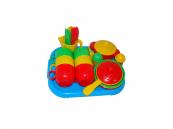 Dětské nádobí pro 6 osob s tácem