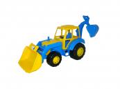 Traktor Altaj, nakladač s lopatou