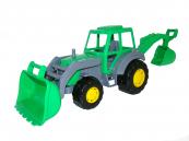 Traktor Mistr nakladač s lopatou