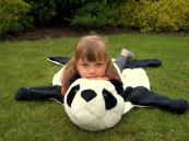 Plyšová předložka Panda