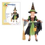 Čarodějka malá - dětský kostým