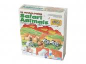 3D Sádrové odlitky - Safari