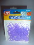 LOOP SELICONA - fialová 901 svítí ve tmě!