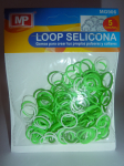 LOOP SELICONA - mix zelená 906