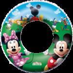 Nafukovací plavací kruh Mickey / Minnie