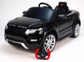 Elektrické auto Range Rover Evoque černé