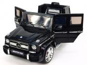 Elektrické auto Džíp MERCEDES-BENZ G63 AMG lakovaný černý