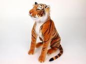 Plyšový sedící Tygr oranžový