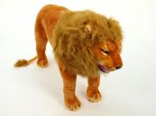 Plyšový lev stojící