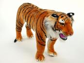 Plyšový Tygr oranžový stojící
