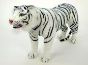 Plyšový Tygr bílý stojící