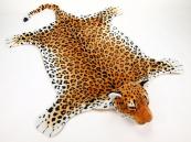 Plyšová předložka Leopard velikost XL