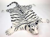 Plyšová předložka Tygr bílý velikost XXL
