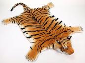 Plyšová předložka Tygr oranžový  velikost XXL