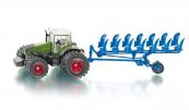 SIKU Traktor Fendt s pluhem