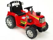 Elektrický traktor 12V - červený