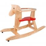 Houpací Koník dřevěný Pony s ohrádkou