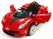 Elektrické auto Rallye Ferrato s DO červené