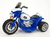 Elektrická motorka Chopper Harleyek 6V modrá