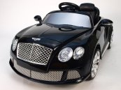 Elektrické auto Bentley černá metalíza, licenční s DO