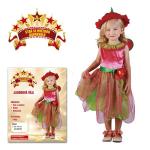 Jahodová víla - dětský kostým