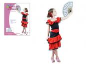 Španělská kráska - dětský kostým