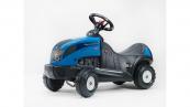 Odrážedlo traktor Baby Landini Landpower 165 modrý