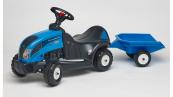 Odrážedlo traktor Baby Landini Landpower 165 s 2 kolovým valníkem
