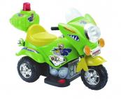 Elektrická silniční minimotorka-zelená