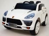 Elektrické auto SUV Kajene Sport s DO - bílé
