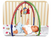 Aktivní hrazda s hračkami
