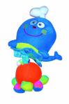 Baby plyšová chobotnička vybrační