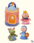 Set plyšových hraček Princezna
