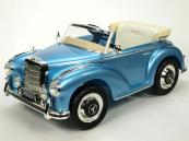 Elektrické auto Mercedes-Benz 300S Oldtimer  světle modrý