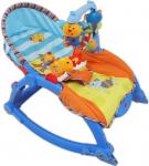 Dětské lehátko 2v1 Baby Mix blue
