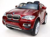 Elektrické auto BMW X6 s DO - vínová metalíza