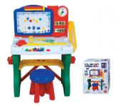 Magnetická tabule se  stolkem a stoličkou
