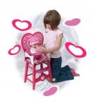 Dřevěná jídelní židlička pro panenky