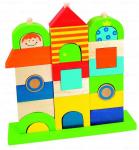 Dřevěné kostky - Můj dům