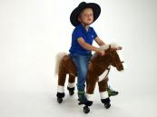 Kůň jezdící - mechanický se zvukovými efekty