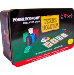 Poker economy v plechovce (200 žetonů)