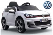 Elektrické auto VW Golf GTI s 2,4 G DO bílé