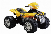 Elektrická čtyřkolka FD Sport 12V-žlutá