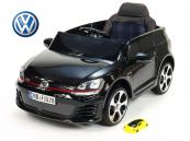 Elektrické auto VW Golf GTI s 2,4 G DO černé