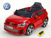 Elektrické auto VW Golf GTI s 2,4 G DO červené