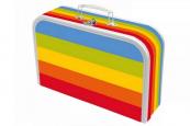 Kufřík Duhový - duháček obšitý