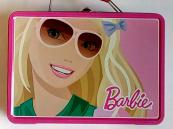 Kufřík Barbie plechový